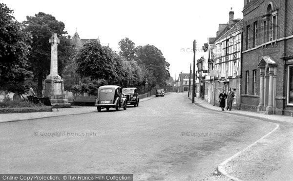 Bungay, St Mary's Street c.1960