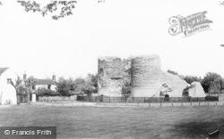 Bungay, The Castle c.1965