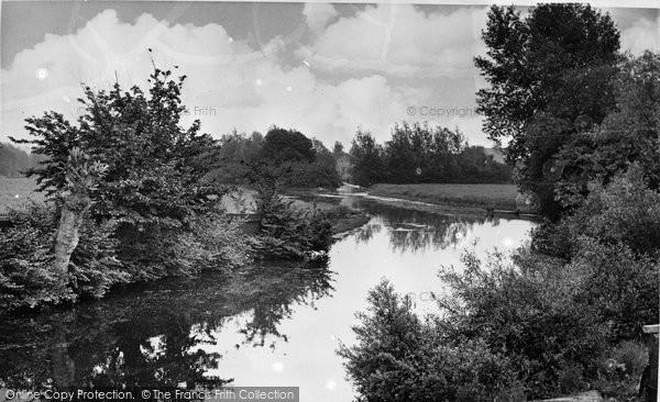 Bungay, The River Waveney 1957