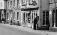 Buntingford, Burrell's, High Street c.1965