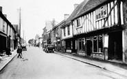 Buntingford, High Street 1929