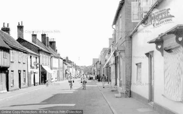 Photo of Buntingford, High Street c1955
