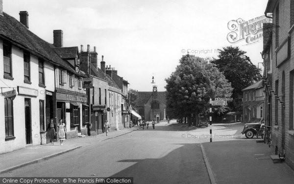 Photo of Buntingford, High Street c1955