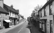 Buntingford, High Street c.1960