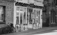 Buntingford, High Street Newsagents c.1955