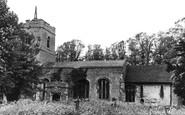 Buntingford, Layston Church c1950