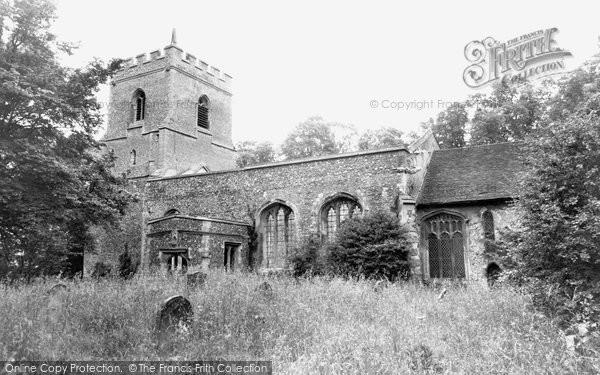 Buntingford, Layston Church c.1965