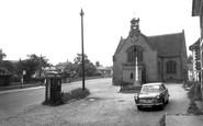 Buntingford, St Peter's Church And Memorial c.1965