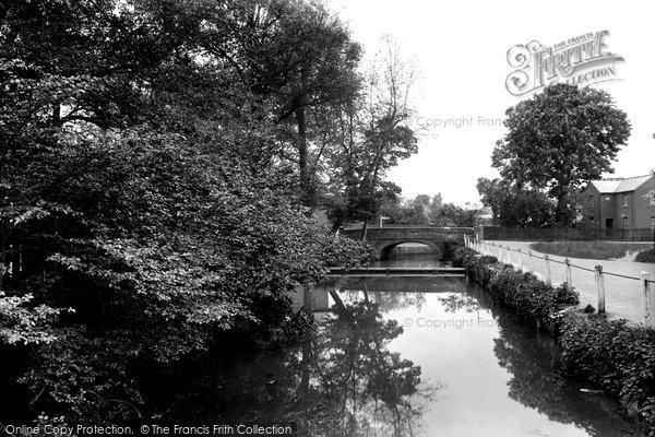 Buntingford, The River Rib 1922