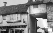 Buntingford, Town Clock And Posting House c.1965