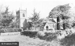 Burbage, All Saints Church c.1965
