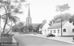 Burbage, Church Street c.1960
