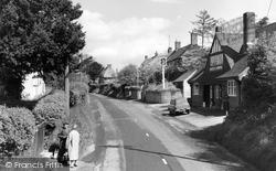 Burbage, High Street 1962
