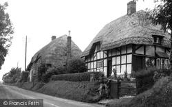 High Street Cottages 1950, Burbage