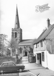 Burbage, St Catherine's Church c.1960