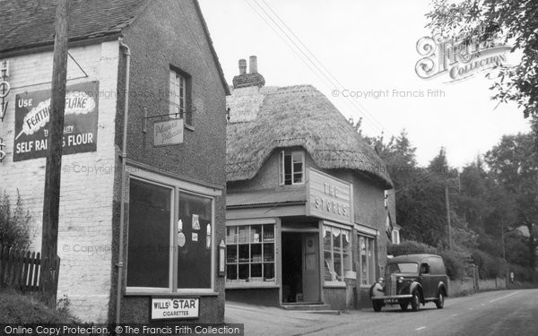 Burbage, The Stores 1950