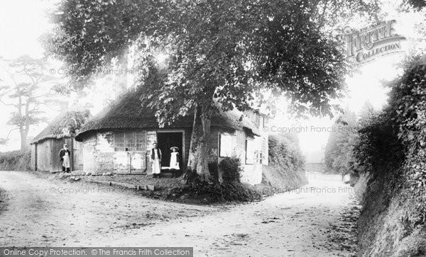 Burbage, The Village Smithy 1907
