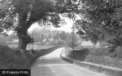 Burbage, Village Through The Trees c.1950