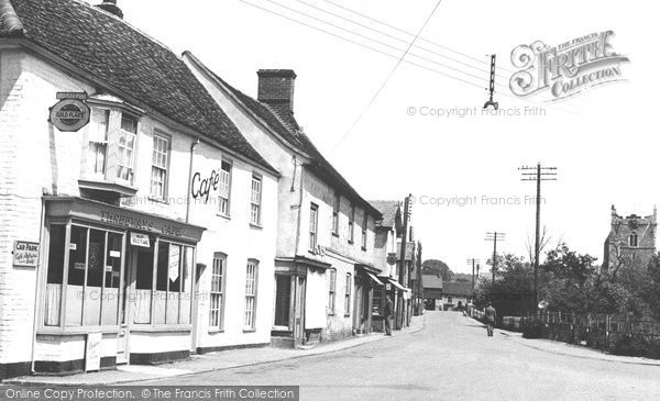 Photo of Bures, Essex Knoll c1955
