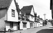 Bures, High Street c1955