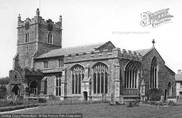 Bures, St Mary's Church c.1955
