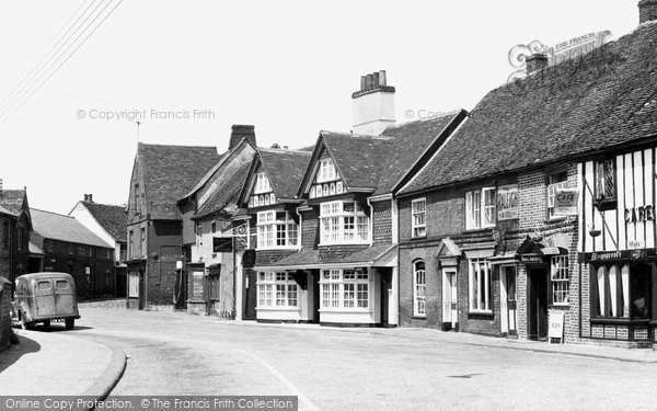 Bures, Suffolk Knoll c1955