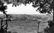 Bures, View From Cuckoo Hill c.1955