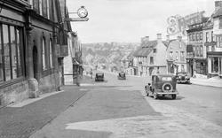 High Street c.1939, Burford