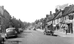 Burford, High Street c.1955