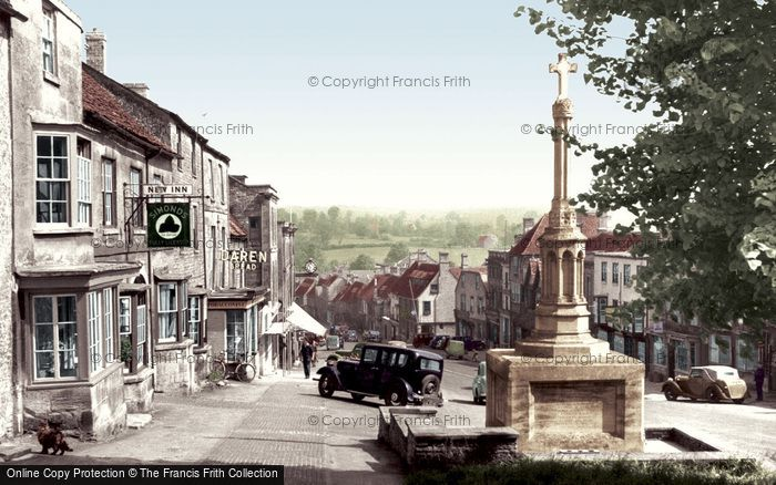 Burford, High Street c.1955