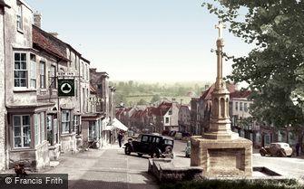 Burford, High Street c1955