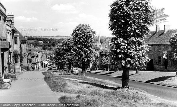 Photo of Burford, High Street c1960