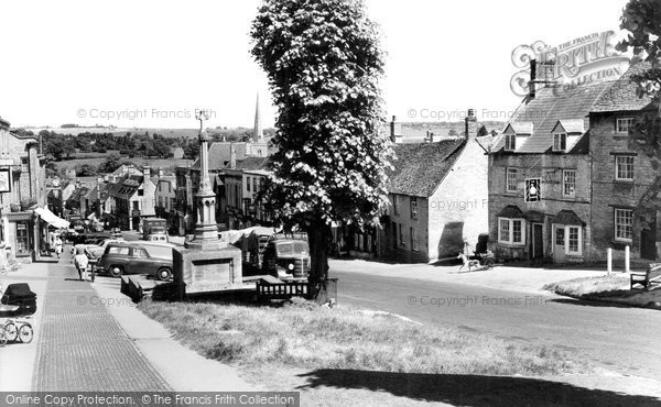Burford, High Street c.1960