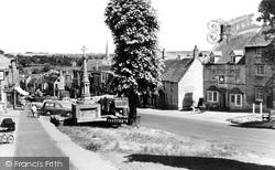 Burford, High Street c.1960
