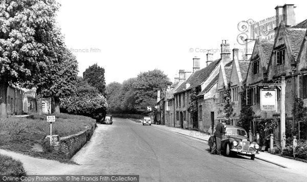 Burford, Sheep Street c.1950