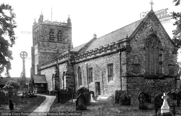 Burford, St Mary's Church 1898