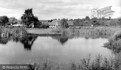 The Gardens, The Lake And The Café c.1965, Burford