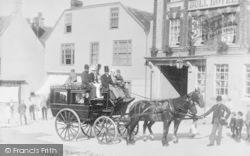 Burford, The Horse Drawn Bus 1889