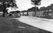 Burgess Hill, Chanctonbury Road c1955
