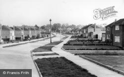 Chanctonbury Road c.1960, Burgess Hill