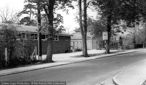 Photo of Burgess Hill, Church Hall and Vicarage c1965