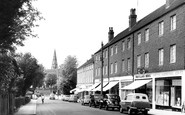 Burgess Hill, Church Road c.1960