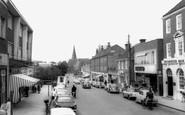 Burgess Hill, Church Road c.1965