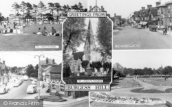 Composite c.1960, Burgess Hill