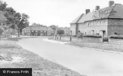 Burgess Hill, Denham Road c.1955