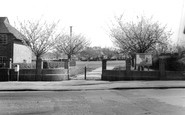 Burgess Hill, Entrance To Recreation Ground c.1965