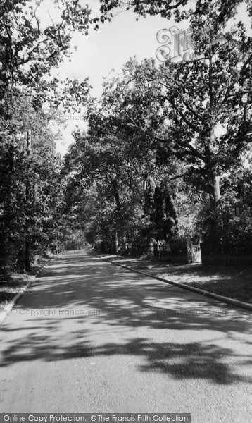 Photo of Burgess Hill, Folders Lane c.1960