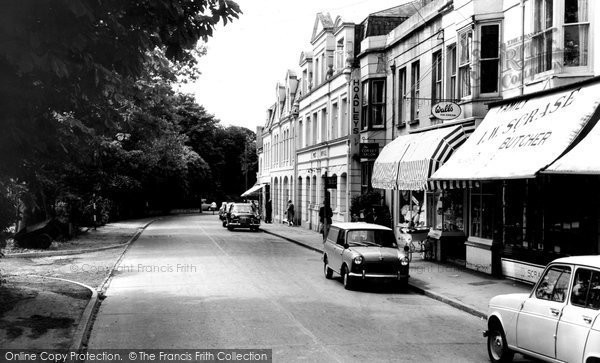 Photo of Burgess Hill, Junction Road c1965