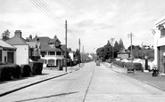 Burgess Hill, London Road c.1955