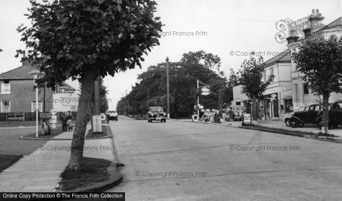 Photo of Burgess Hill, London Road c.1960
